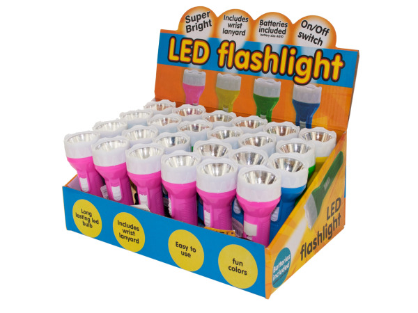 Case of 0 - LED Flashlight Countertop Display