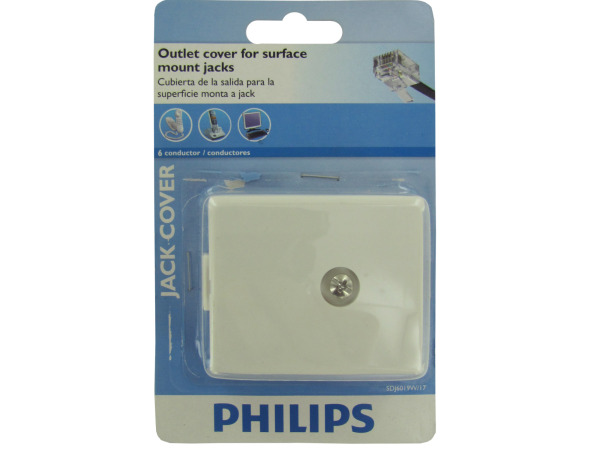 Case of 18 - Philips Jack Cover