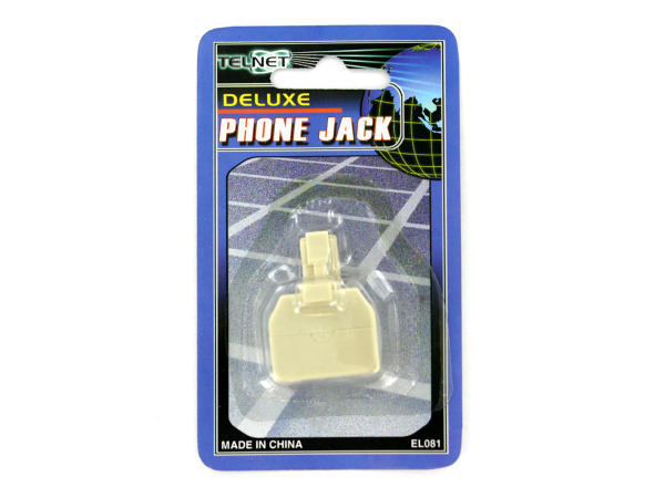 Case of 24 - Deluxe Phone Jack