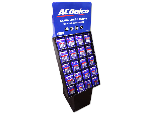 Case of 0 - AC Delco 160 Piece Battery Display