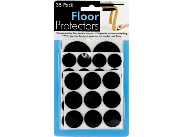 Case of 24 - Floor Protecting Furniture Pads
