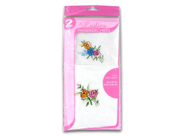 Case of 24 - Ladies Handkerchief Set
