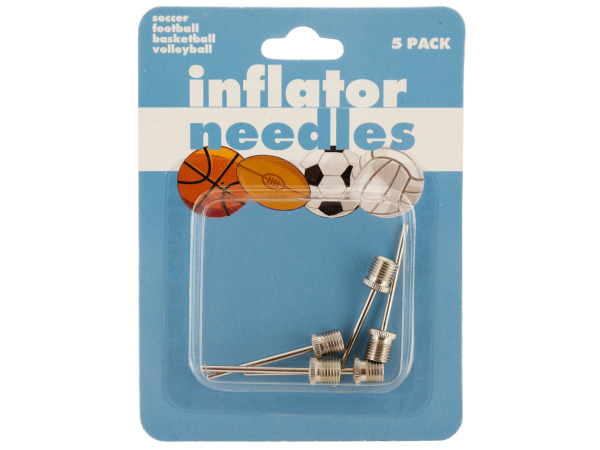 Case of 24 - Sports Ball Inflator Needles