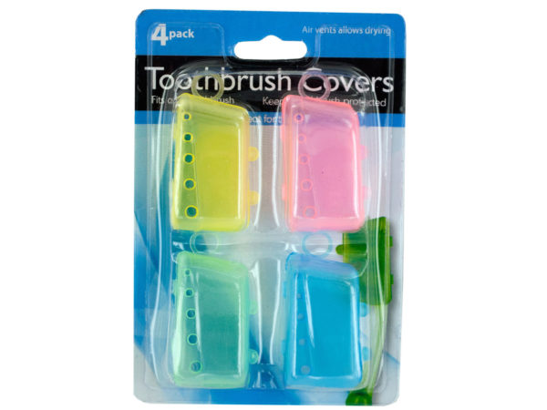 Case of 24 - Toothbrush Covers Set