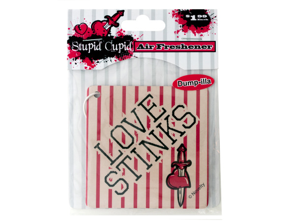 Case of 24 - Stupid Cupid Air Freshener