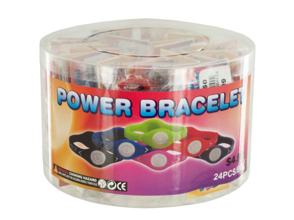 Case of 0 - Power Bracelet Countertop Display