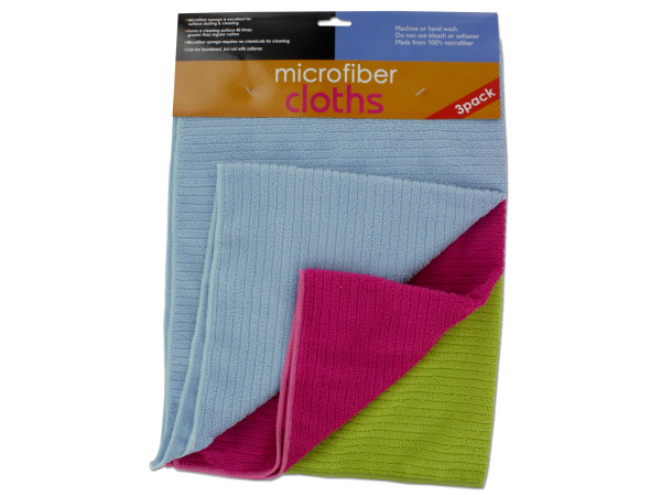 Case of 6 - Microfiber Cloths