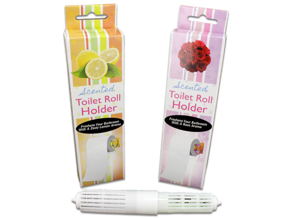 Case of 24 - Scented Toilet Paper Roll Holder
