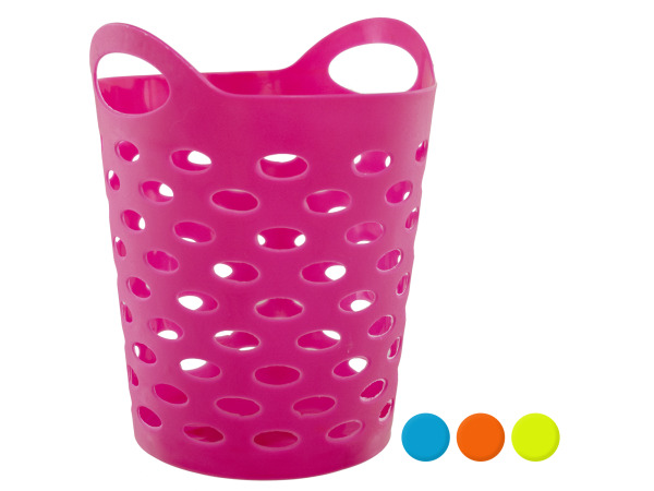 Case of 12 - Flexible Round Storage Basket