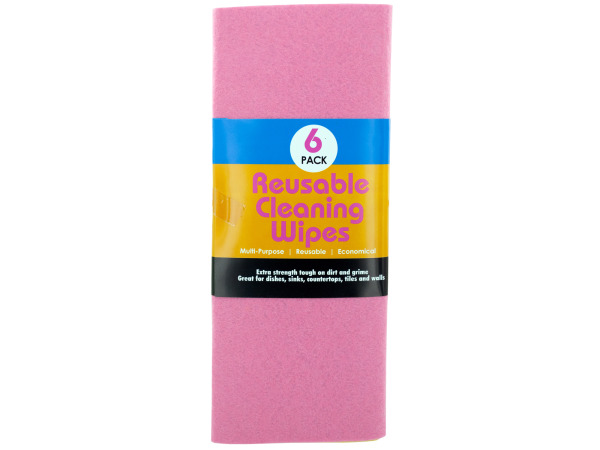 Case of 12 - Reusable Cleaning Wipes