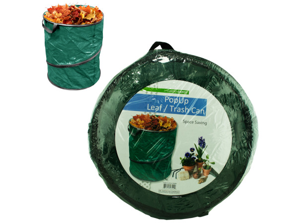 Case of 4 - Pop Up Leaf Trash Can