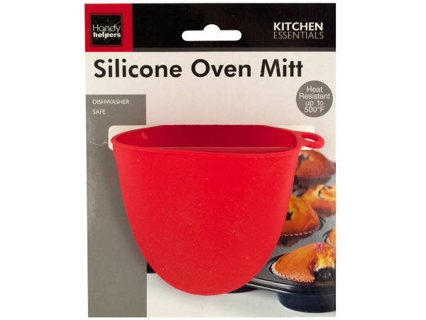 Case of 24 - Silicone Oven Mitt