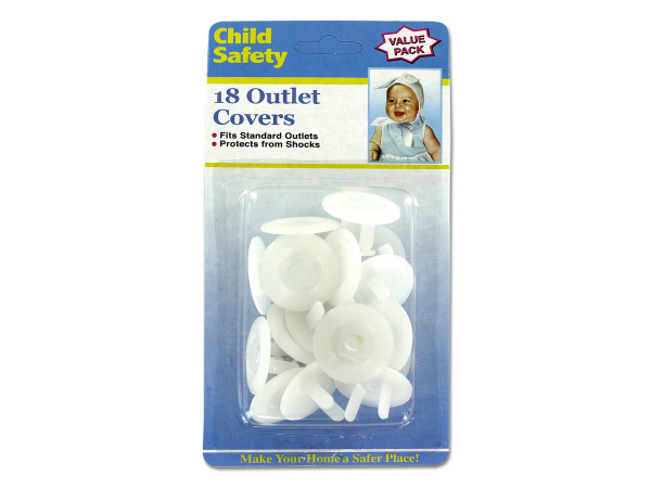 Case of 20 - Child Safety Electrical Outlet Covers