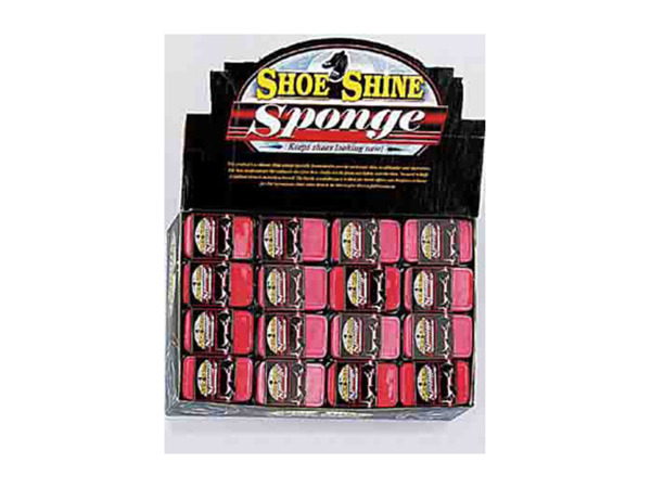 Case of 0 - Shoe Shine Sponge Counter Top Display