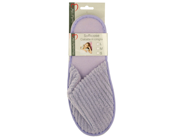 Case of 8 - Women's Plush Slippers