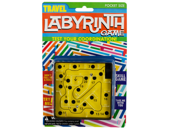 Case of 24 - Travel Labyrinth Game