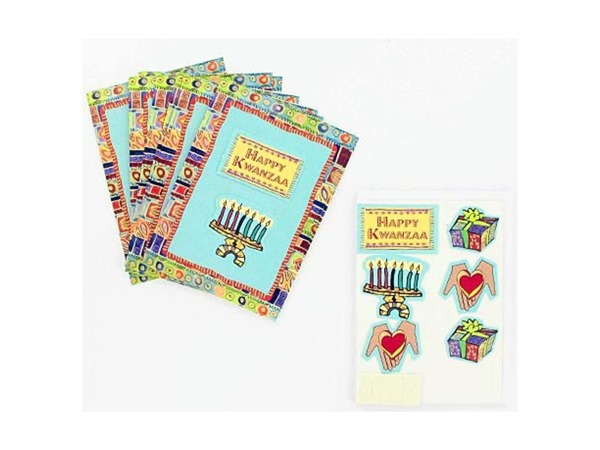 Case of 25 - Kwanzaa Note Cards with Envelopes