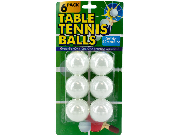Case of 24 - Table Tennis Balls Set