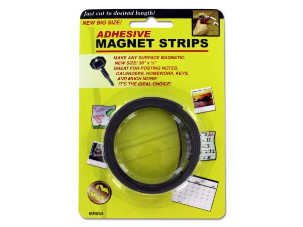 Case of 24 - Adhesive Magnet Strips