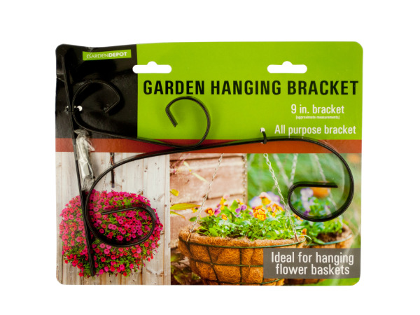 Case of 12 - Decorative Metal Garden Hanging Bracket
