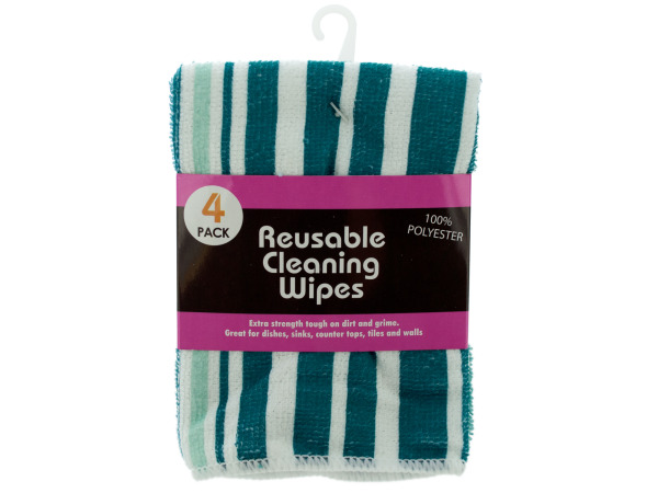 Case of 4 - Microfiber Towels