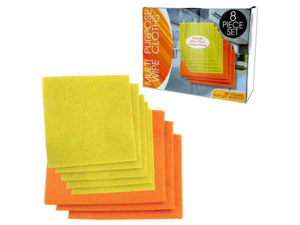 Case of 6 - Multi-Purpose Wipe Cloths