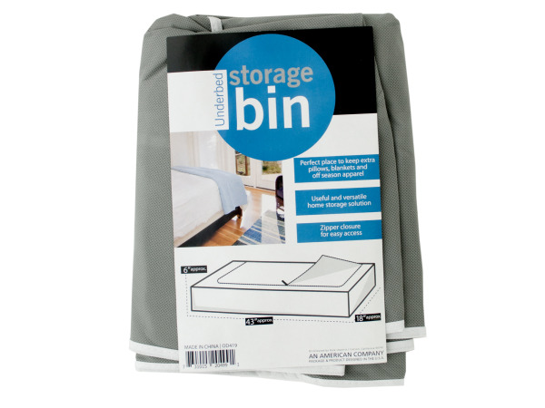 Case of 4 - Underbed Storage Bin