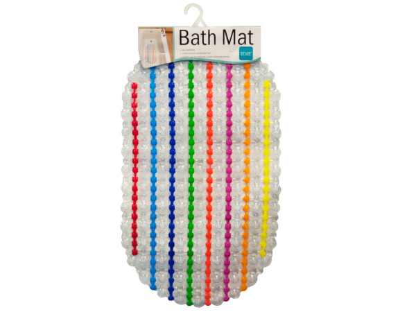Case of 4 - Colorful Bath Mat
