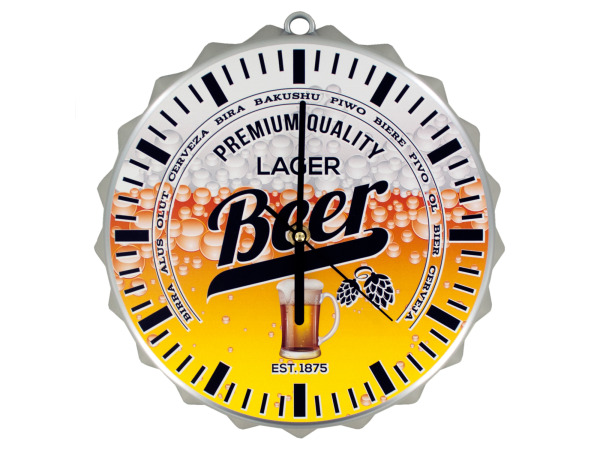 Case of 1 - Beer Bottle Cap Clock