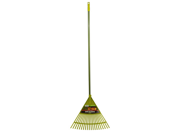 Case of 4 - Garden Rake with Plastic Spokes