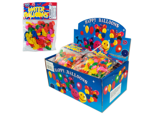Case of 0 - Water balloons, pack of 100